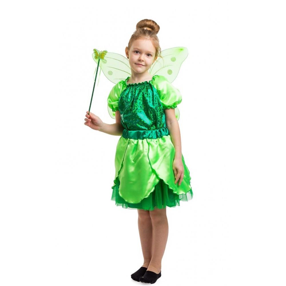 Дитячий маскарадний костюм феї Дінь-Дінь комплект для дівчинки