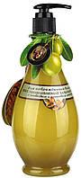 Бальзам-маска відновлююча для пошкодженого волосся з оливковою і аргановою олією 400 мл VivaOliva