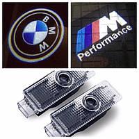 Штатная подсветка двери с логотипом led BMW M E90 F10 F30 E60 X3 X5 X6 E92 M3 M5 M6 Z4 E61 E93 E63