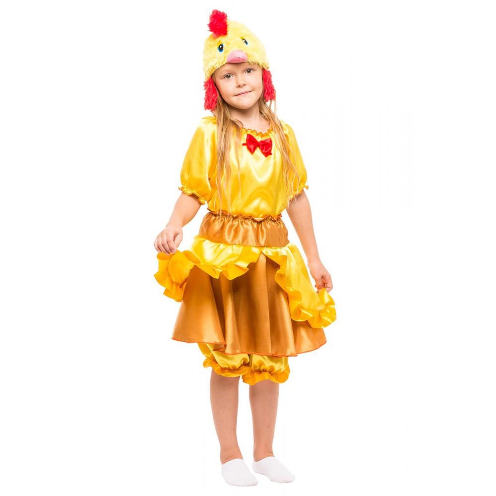 Карнавальный костюм Курочки Цыпленка для девочки