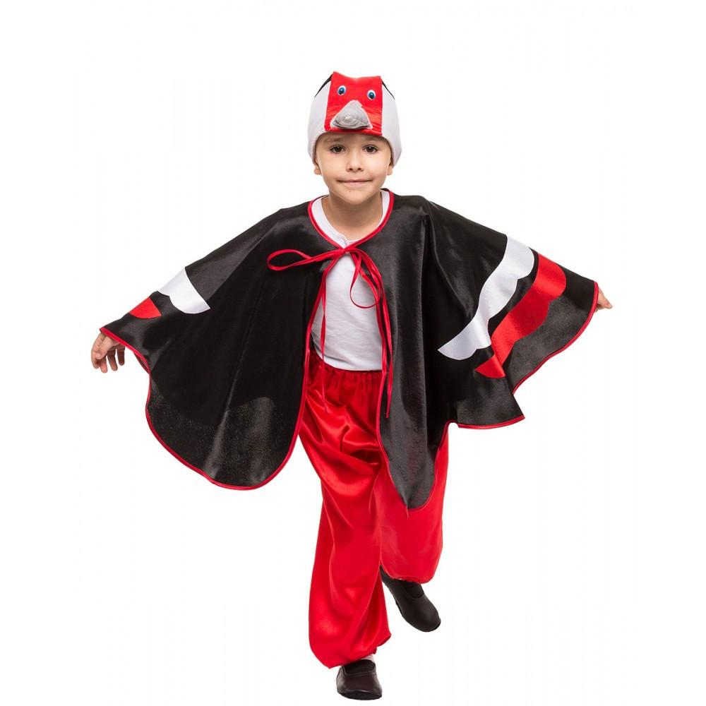Детский костюм Дятла карнавальный для мальчика