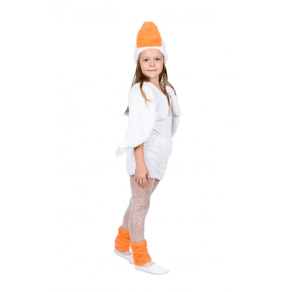 Маскарадный костюм Гуся белого для детей возрастом от 3 до 7 лет