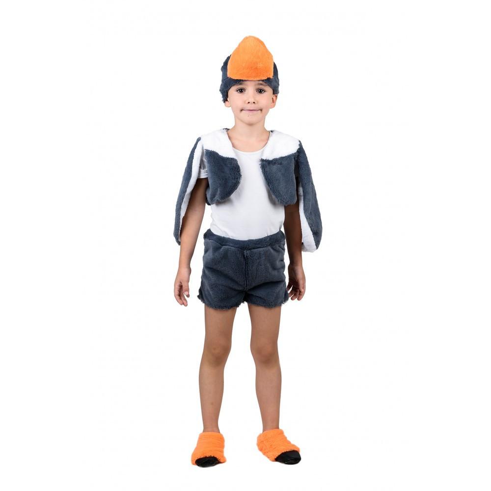 Для малышей карнавальный костюм серого Гуся