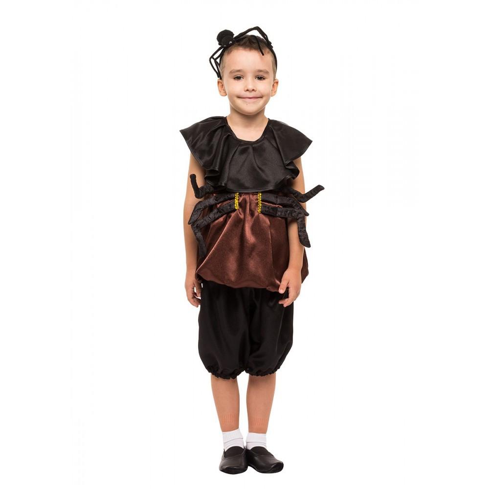 Детский карнавальный костюм Паука для выступлений