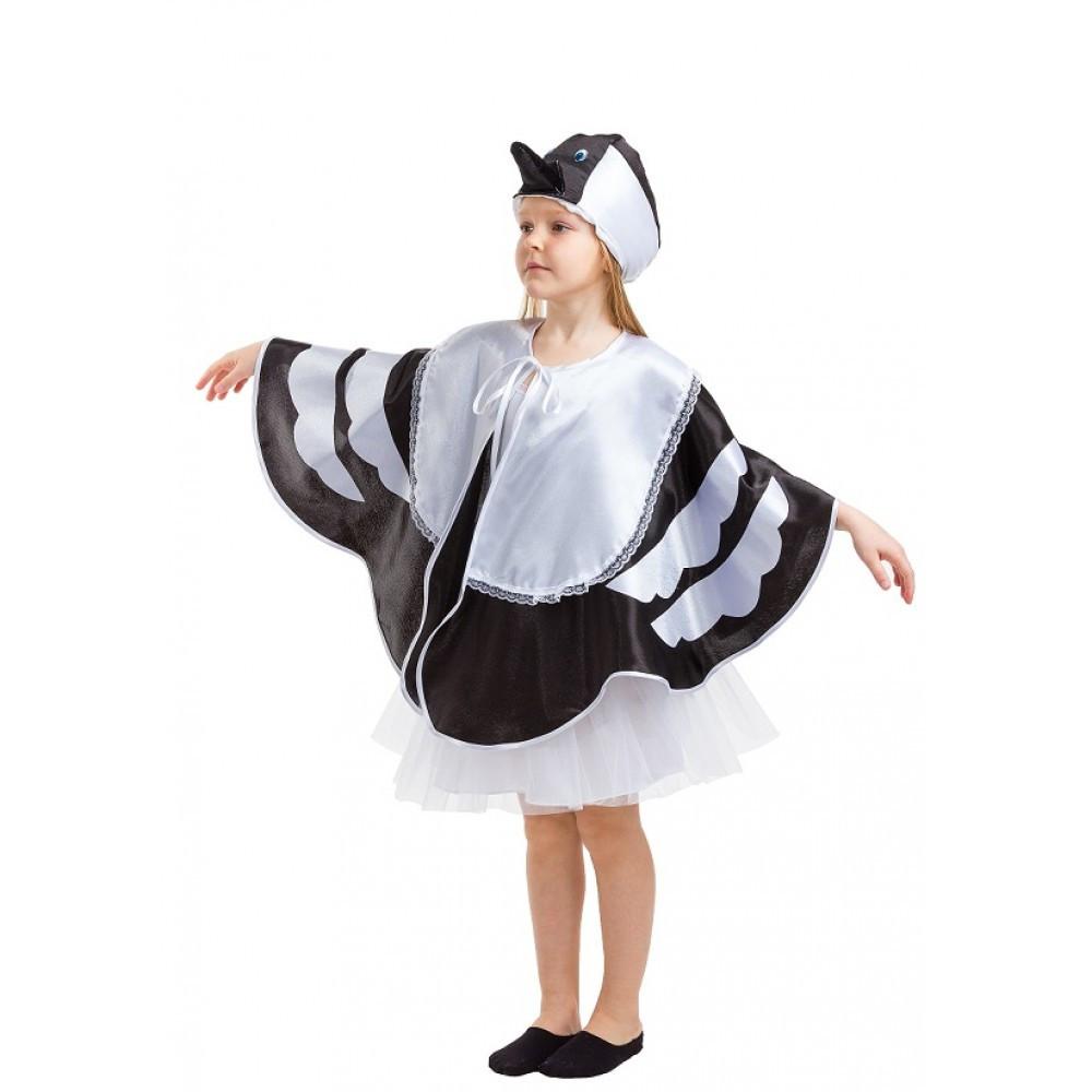 Костюм карнавальный Сорока для девочки