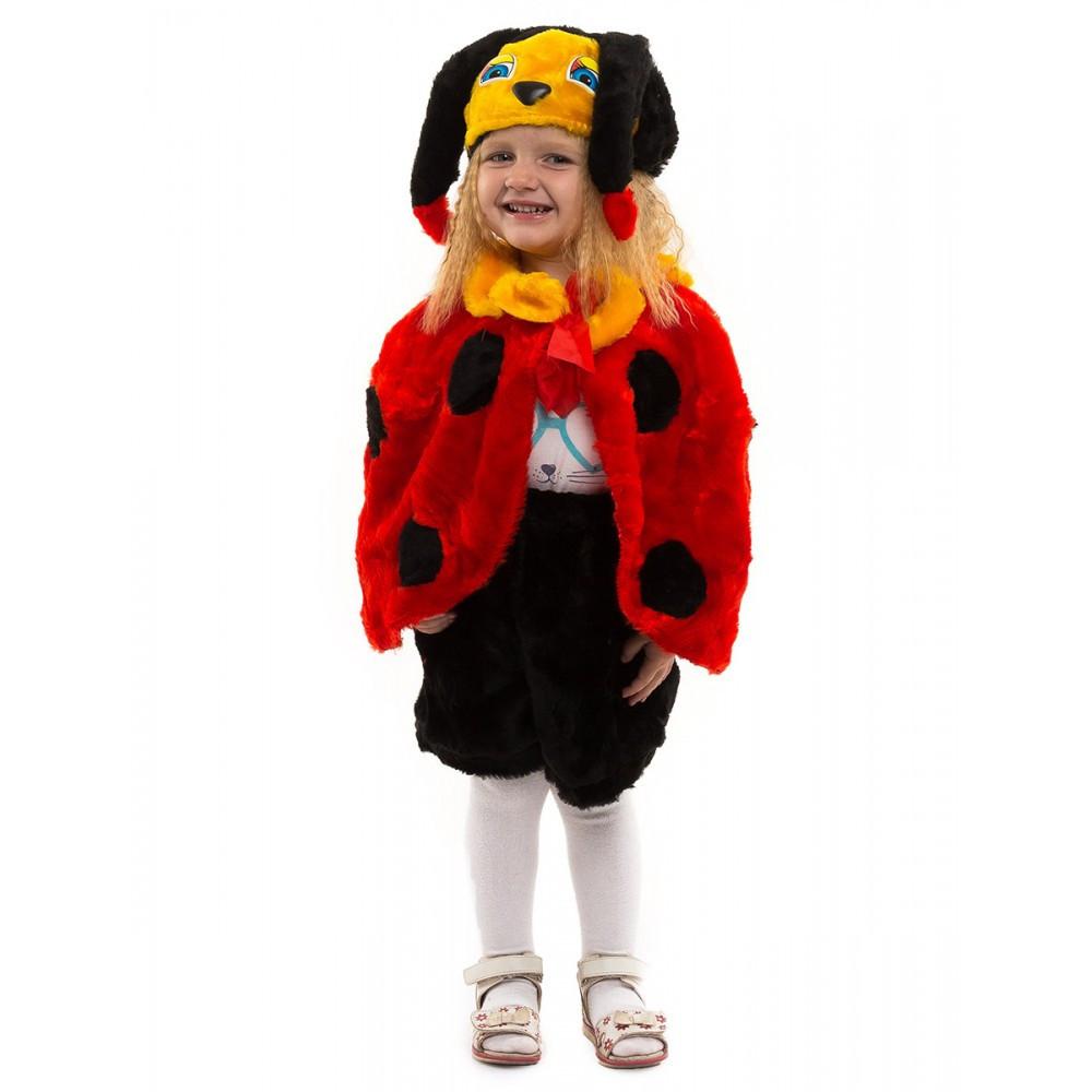 Карнавальный костюм для малыша Божья Коровка от 3 до 5 лет