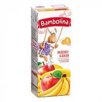 Детский сок яблоко-банан 200мл Bambolina 1312318