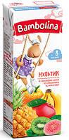 Детский сок мультифруктовый 200мл Bambolina 1312312