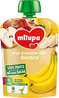 Детское фруктовое пюре яблоко,банан 80г Milupa Nutricia 121150
