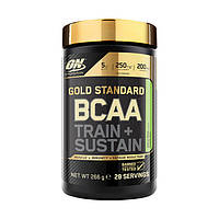 Аминокислоты Optimum Nutrition Gold Standard BCAA Train + Sustain 266 g Оптимум Нутришн всаа, ОН/ON