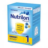 Смесь молочная сухая Nutrilon Комфорт 1 с рождения 600г Nutricia 145164