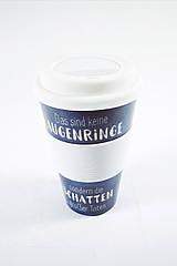 Кофейная кружка to go becher 350ml bambus Augenringe