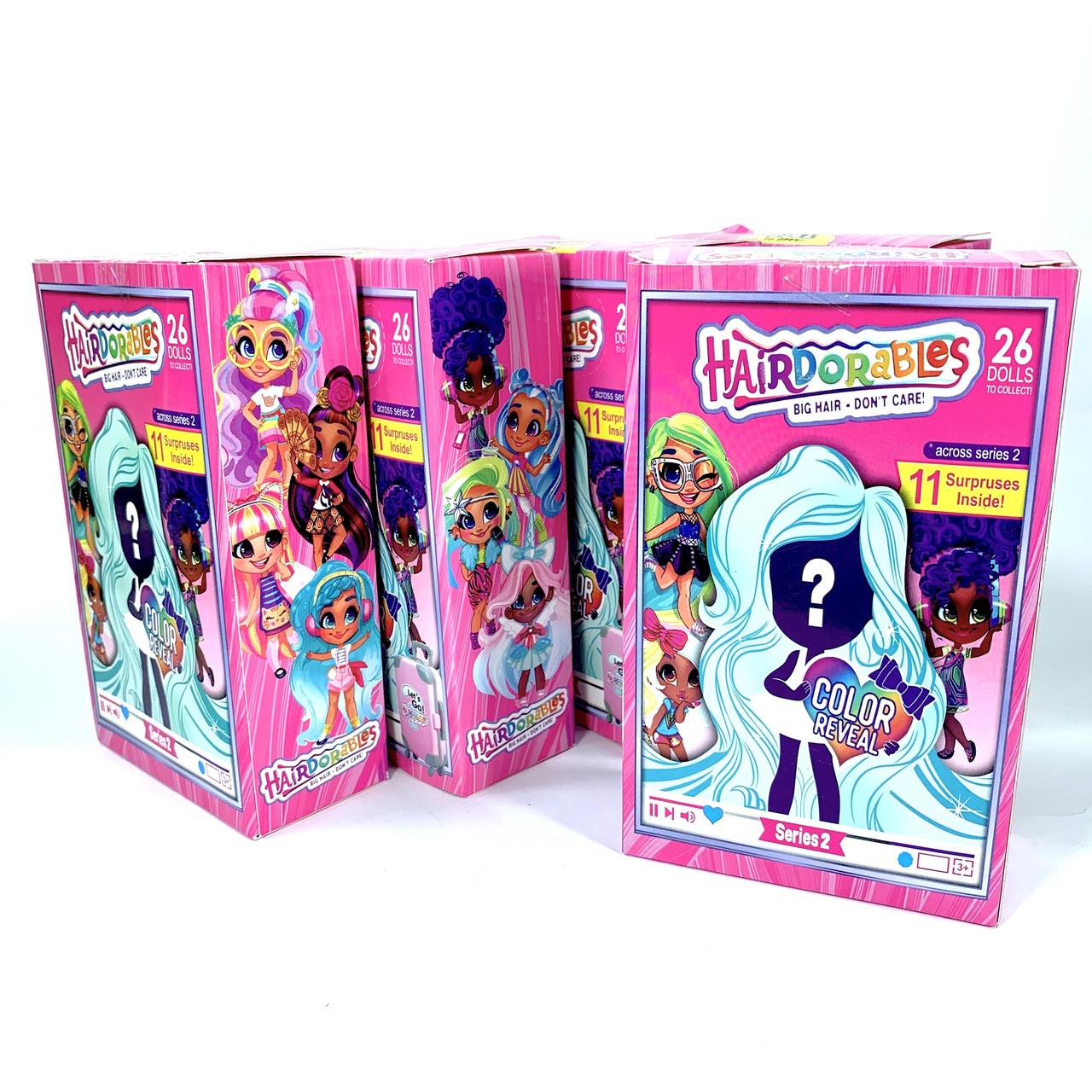 Кукла Hairdorables в чемоданчике кукла с волосами