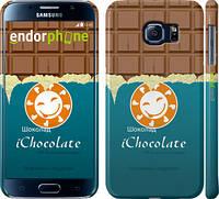 "Чехол на Samsung Galaxy S6 G920 Шоколадка ""1098c-80"""