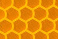 Светоотражающая призматическая желтая пленка (соты) - ORALITE 6710 Engineer Grade Yellow 1.235 м