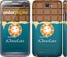 "Чехол на Samsung Galaxy Note 2 N7100 Шоколадка ""1098c-17"""