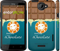 "Чехол на HTC One X+ Шоколадка ""1098c-69"""