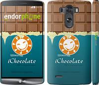 """Чехол на LG G3 D855 Шоколадка """"1098c-47"""""""