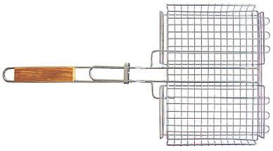 Решетка- БАРБЕКЮ 69*41*35*6,5 см,глубокая большая  СТЕНСОН, фото 2