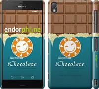 "Чехол на Sony Xperia Z3 D6603 Шоколадка ""1098c-58"""