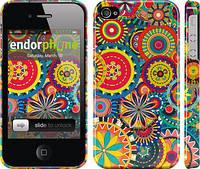"""Чехол на iPhone 4s Узор 5 """"902c-12"""""""