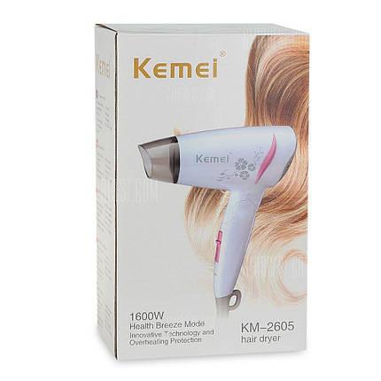 Фен Kemei Km-2605, фото 2