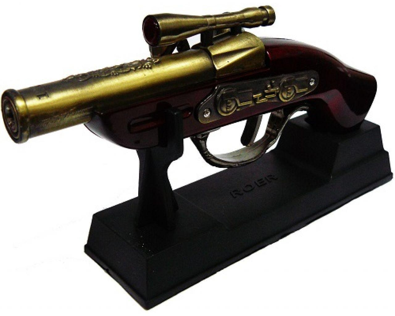 Зажигалка в виде мушкета (мини) подарок для коллекционера