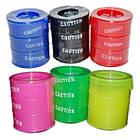 Жвачка для рук 3 цвета | Сопли бочонок Barrel-o-Slime, фото 2