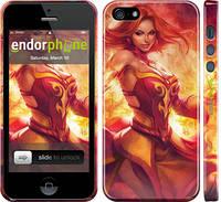 "Чехол на iPhone 5s Dota 2. Lina 2 ""988c-21"""