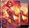 """Чехол на iPad 5 (Air) Dota 2. Lina 2 """"988c-26"""""""