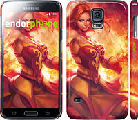 "Чехол на Samsung Galaxy S5 g900h Dota 2. Lina 2 ""988c-24"""