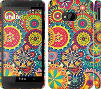 """Чехол на HTC One M7 Узор 5 """"902c-36"""""""