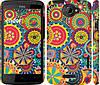 """Чехол на HTC One X+ Узор 5 """"902c-69"""""""