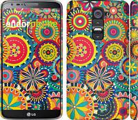 "Чехол на LG G2 Узор 5 ""902c-37"""