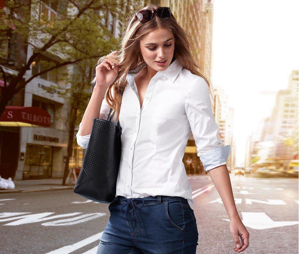 Шикарная белая рубашка из органического хлопка от тсм Tchibo (чибо),германия,размер укр 50-52