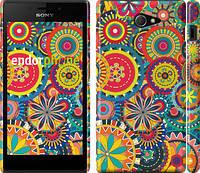 """Чехол на Sony Xperia M2 D2305 Узор 5 """"902c-60"""""""