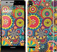 """Чехол на Huawei Ascend P6 Узор 5 """"902c-39"""""""