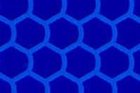 Светоотражающая призматическая синяя пленка (соты) - ORALITE 6710 Engineer Grade Blue 1.235 м