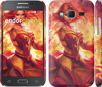 "Чехол на Samsung Galaxy Core Prime G360H Dota 2. Lina 2 ""988c-76"""
