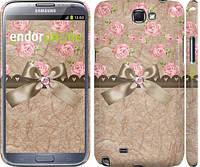 "Чехол на Samsung Galaxy Note 2 N7100 Винтаж ""2402c-17"""