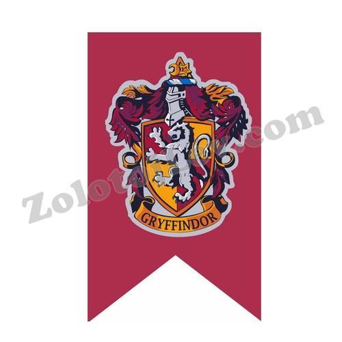 Флаг факультета Гриффиндор 75х125 см