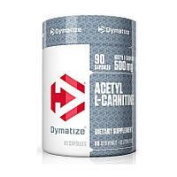 Л-карнитин Dymatize Acetyl L-carnitine 90 caps л-карнитин для похудения, жиросжигатель