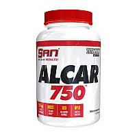 Л-карнитин SAN ALCAR Acetyl-L-Carnitine 100 caps л-карнитин для похудения, жиросжигатель