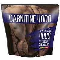 Л-карнитин Power Pro Carnitine 4000 500 g л-карнитин для похудения, жиросжигатель