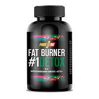 Жиросжигатель Power Pro Fat Burner #1 Detox 90 caps для сушки и похудения