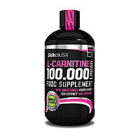 Л-карнитин BioTech L-Carnitine 100 000 500 ml л-карнитин для похудения, жиросжигатель, карнитин Биотеч
