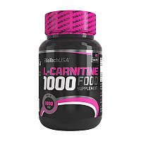 Л-карнитин BioTech L-Carnitine 1000 mg 30 tabs л-карнитин для похудения, жиросжигатель