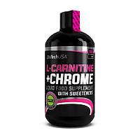 Л-карнитин BioTech L-Carnitine 35000 mg + Chrom 500 ml л-карнитин для похудения, жиросжигатель