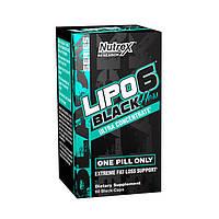 Жиросжигатель Nutrex Lipo-6 Black Hers Ultra Concentrate 60 caps Липо 6 для сушки и похудения