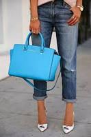 Самая модная голубая сумка сегодня в Украине!